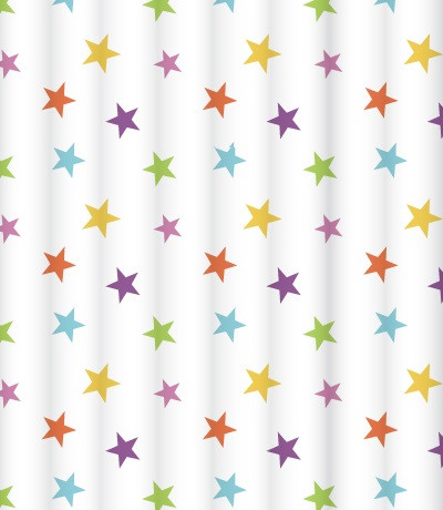 Штора для ванной комнаты Lemark Bright Stars C2018T018 штора для ванной комнаты lemark vivid meadows c2018t039