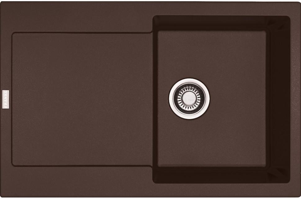 Фото - Кухонная мойка Franke Maris MRG 611 шоколад 114.0198.471 кухонная мойка franke maris mrg 611d шоколад