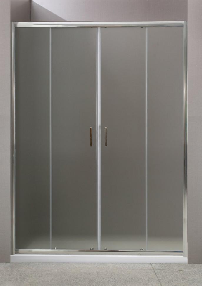 Душевая дверь 180 см BelBagno UNO-BF-2-180-P-Cr текстурное стекло