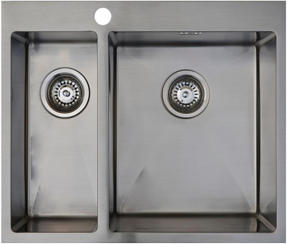 Кухонная мойка Seaman Eco Marino SMB-6151DLS.B кухонная мойка seaman eco marino smb 6351prs b