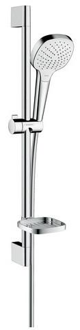 Набор для душа 0,65 м, с мыльницей Casetta Hansgrohe Croma Select Е Vario 26586400 набор душевой croma 100 vario