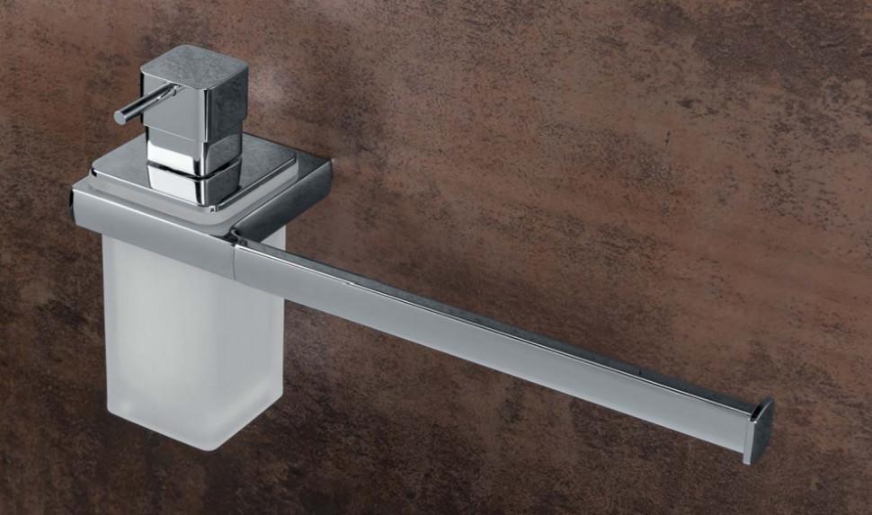 Полотенцедержатель с дозатором 32,5 см Colombo Design Lulu B6274 полотенцедержатель 38 см colombo design lulu b6209 gold