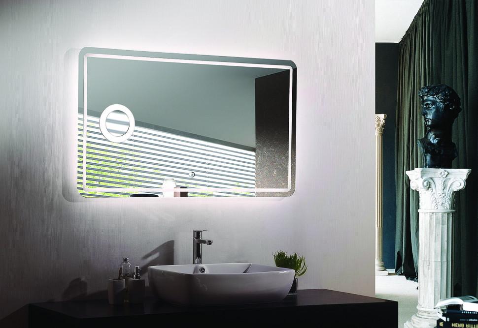 Зеркало с подсветкой 100х70 см Esbano ES-1989GDF