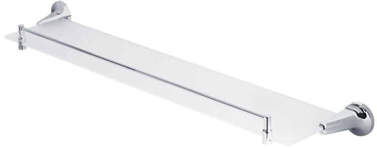 Полка стеклянная 65,5 см Veragio Oscar Cromo OSC-5211.CR цена и фото