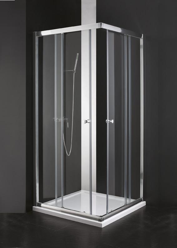 Душевой уголок Cezares Anima 100x100 см текстурное стекло ANIMA-W-A-2-100-P-Cr душевой уголок cezares porta 100x100 см текстурное стекло porta d a 2 100 p cr