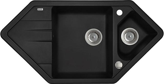 Кухонная мойка черный IDDIS Vane G V26B965I87