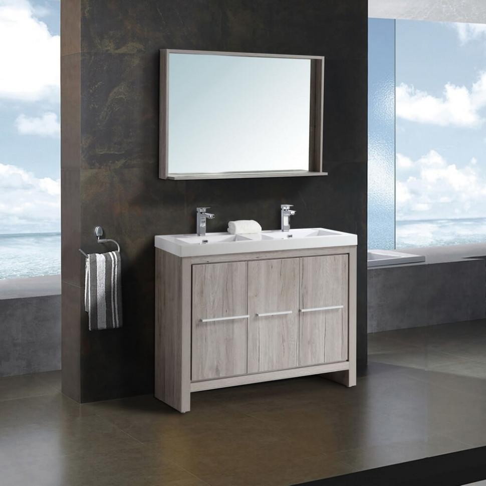 Комплект мебели дуб серебристый 120 см Black & White Country 120SK00 цена 2017