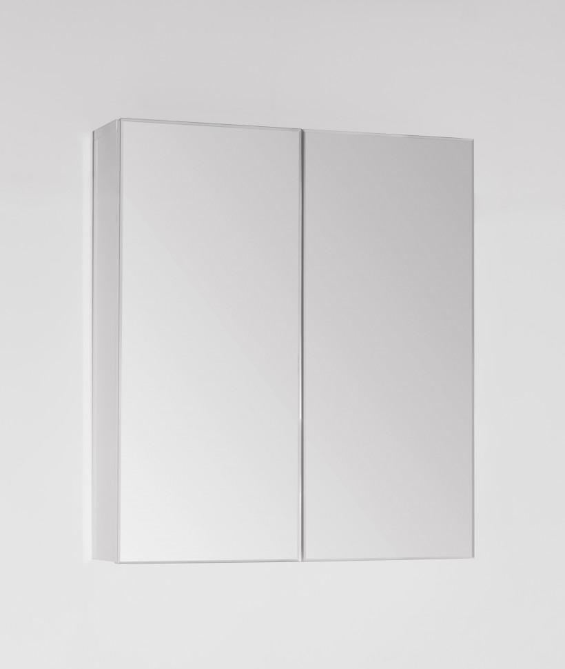 Зеркальный шкаф 60х68,4 см белый глянец Style Line Амарант LC00000351