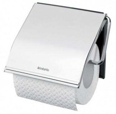 Держатель туалетной бумаги Brabantia Classic 414589 держатель для туалетной бумаги brabantia profile цвет черный 483400