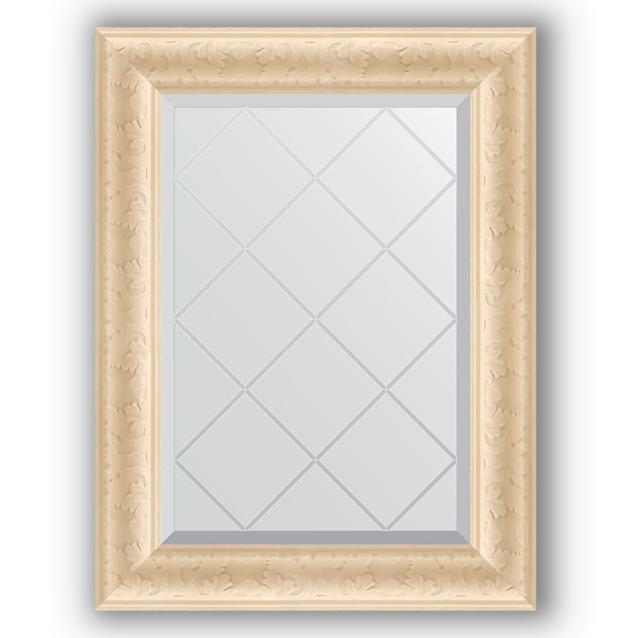 Зеркало 55х72 см старый гипс Evoform Exclusive-G BY 4011