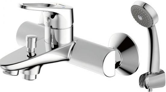 Фото - Смеситель для ванны Bravat Drop-D F648162C-B-RUS смеситель для ванны bravat art короткий излив бронза f675109u b1 rus