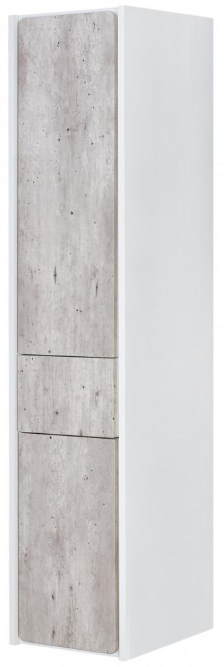 Пенал подвесной бетон/белый матовый L Roca Ronda ZRU9303005 пенал подвесной белый глянец l roca up zru9303013