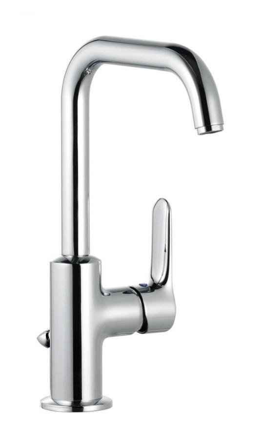 Смеситель для раковины с донным клапаном Kludi Objekta 320230575 цена