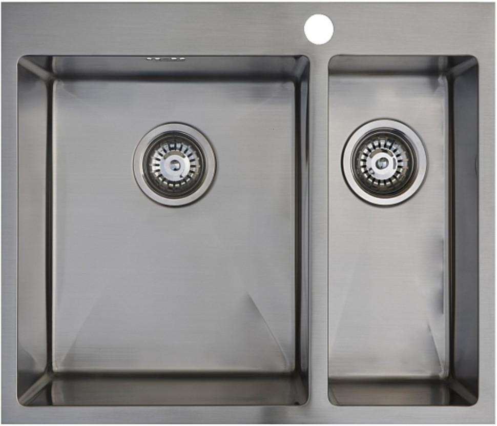 Кухонная мойка Seaman Eco Marino SMB-6151DRS.B кухонная мойка seaman eco marino smb 4550s b