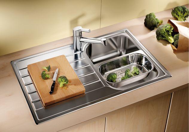 Кухонная мойка Blanco Livit 45 Salto Полированная сталь 514786 кухонная мойка blanco livit 45 s salto 514786