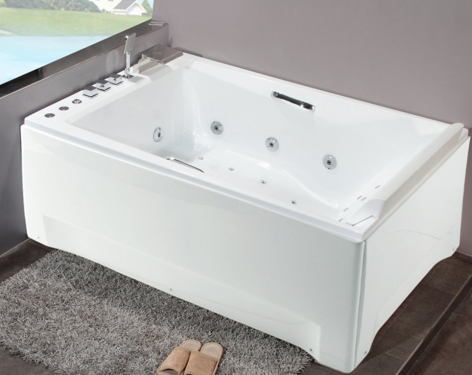Акриловая гидромассажная ванна 180х120 см Orans 65105L0 фото