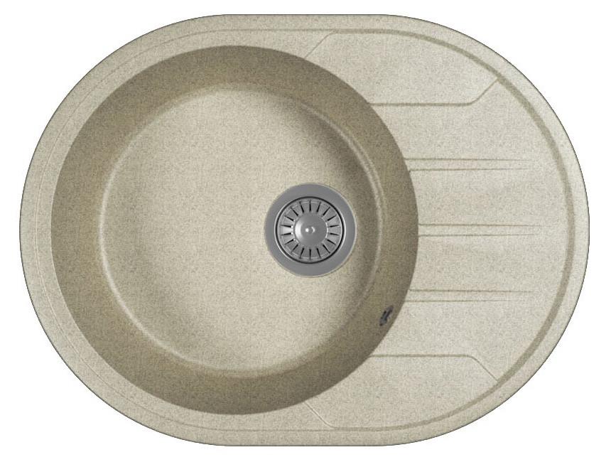 Кухонная мойка Bamboo Лиана серый 29.020.B0620.408