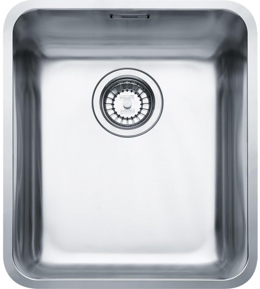 Кухонная мойка Franke Kubus KBX 110-34 полированная сталь 122.0036.606 franke kbx 110 34 нерж сталь зеркальная