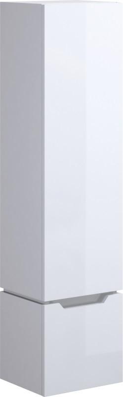 цена на Пенал подвесной белый глянец Cersanit Street Fusion SL-SFU