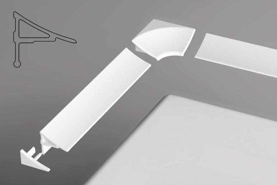 Универсальная декоративная планка 11/2000 Ravak XB462000001 фото