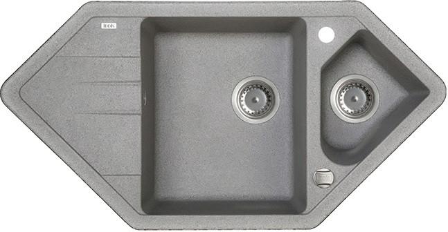 Кухонная мойка серый IDDIS Vane G V27G965I87 кухонная мойка шоколад iddis vane g v34c785i87
