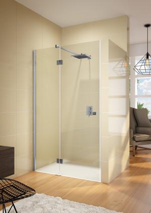 Душевая дверь 1385 см Riho Polar P104 L GP0103201 прозрачное.
