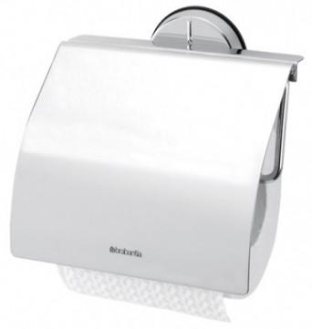 Держатель туалетной бумаги Brabantia Profile 427602 держатель для туалетной бумаги brabantia profile цвет черный 483400