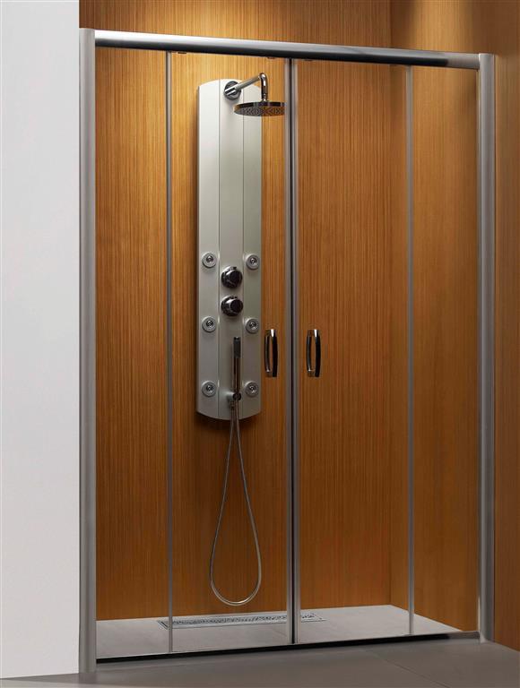 Душевая дверь Radaway Premium Plus DWD 160 коричневое