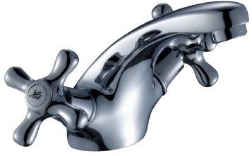 Смеситель для раковины без донного клапана Rossinka H H02-61 rossinka смесительrossinka h h02 83 для ванны с душем