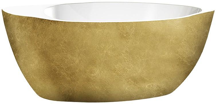 Акриловая ванна 174х84 см Lagard Versa Treasure Gold lgd-vsa-tg