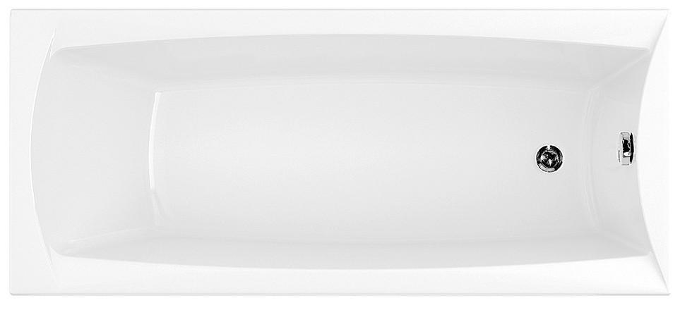 Акриловая ванна 169,3х74,4 см Aquanet Cariba 00205350 акриловая ванна aquanet vitoria 204049