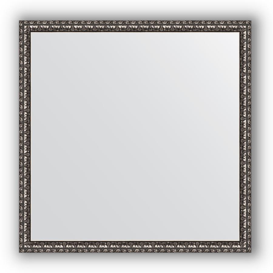 Зеркало 70х70 см черненое серебро Evoform Definite BY 1018