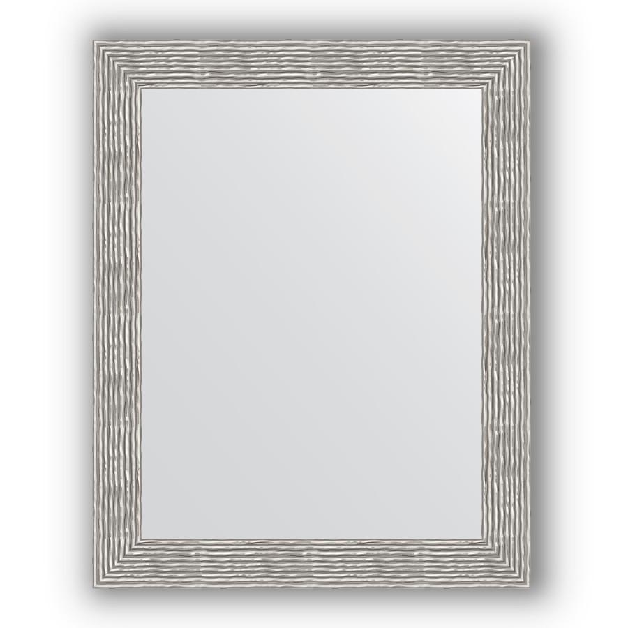 Зеркало 80х100 см волна хром Evoform Definite BY 3281 зеркало 80х80 см волна хром evoform definite by 3249