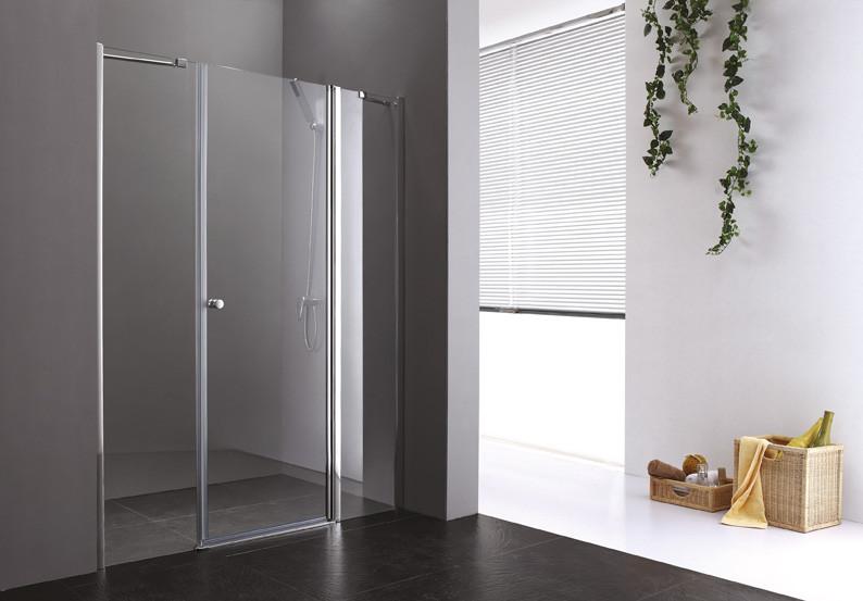 цены Душевая дверь распашная Cezares Elena 150 см текстурное стекло ELENA-W-B-13-60+60/30-P-Cr-R