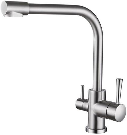 Смеситель для кухни с подключением к фильтру Kaiser Merkur 26044-5 смеситель kaiser merkur 26044 5 chrome matte