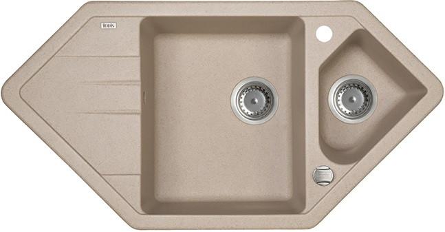 Кухонная мойка песок IDDIS Vane G V28P965I87 кухонная мойка iddis vane g v10w621i87 белая