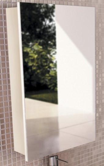 Зеркальный шкаф 48х70 см белый глянец Comforty Диана 00003118242 цена