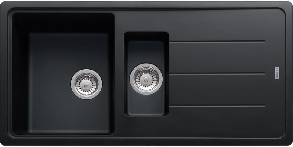 Кухонная мойка Franke Basis BFG 651 оникс 114.0259.962 franke pbg 651 оникс