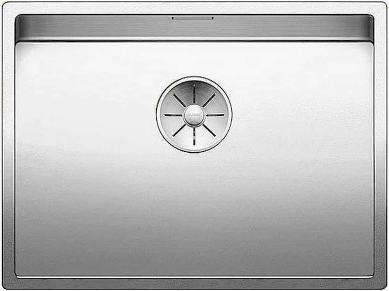 Кухонная мойка Blanco Claron 550-IF InFino зеркальная полированная сталь 521578 кухонная мойка blanco claron 500 if infino зеркальная полированная сталь 521576
