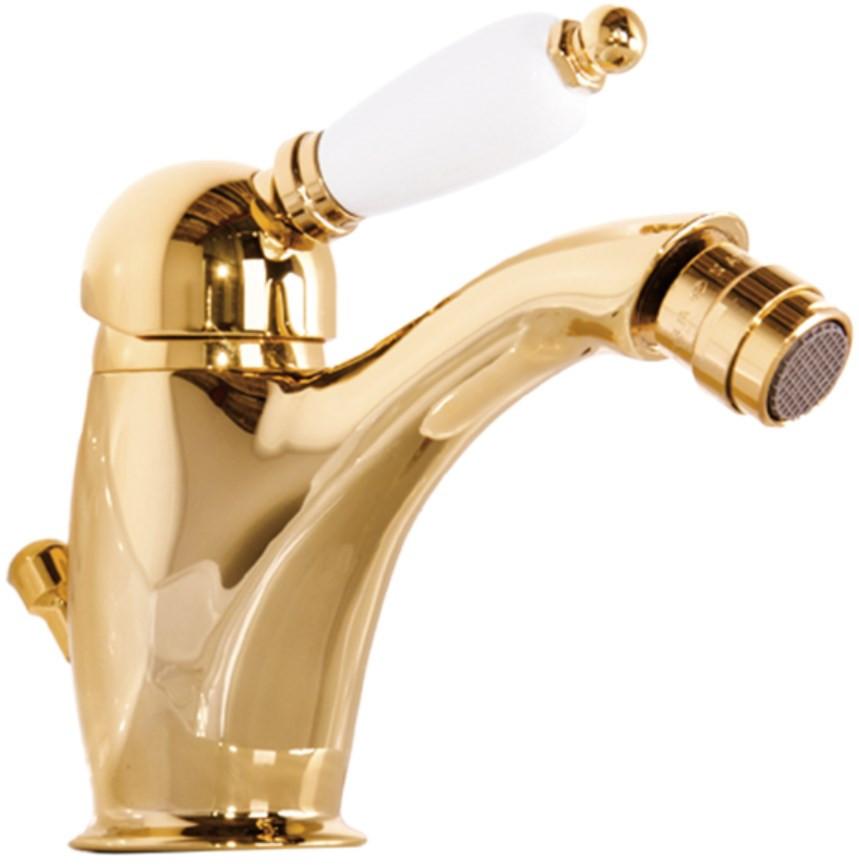 Смеситель для биде с донным клапаном Gattoni Orta 2756/27D0ORO смеситель для биде с донным клапаном gattoni orta 2756 27c0cr