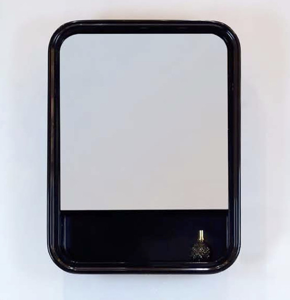 Зеркальный шкаф 55х73 см черный глянец BelBagno Prado PRADO-SPC-550-1A-NL bedding set double euro altinbasak navi sky blue