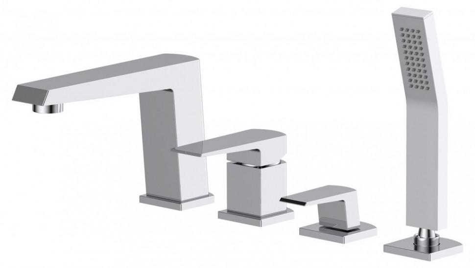 Смеситель на борт ванны BelBagno Arlie ARL-VIM4-CRM смеситель для ванны belbagno arlie arl vim4 crm