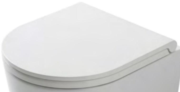 Сиденье для унитаза с микролифтом белый/хром Globo Forty3 FOR22BI/cr