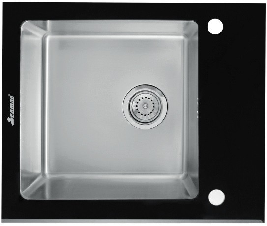 Кухонная мойка Seaman Eco Glass SMG-610B.B фото