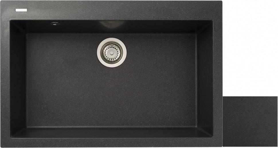 Кухонная мойка оникс Longran Cube CUG760.500 - 10 мойка longran ultra uls615 500 15 10 оникс