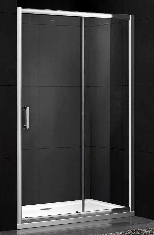 Душевая дверь 110 см Gemy Victoria S30191D прозрачное фото