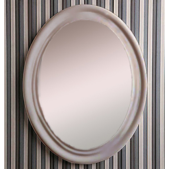 Фото - Зеркало 62 см темно-серый Simas Lante LAS1tortora раковина 70х54 см simas lante la10bi 1