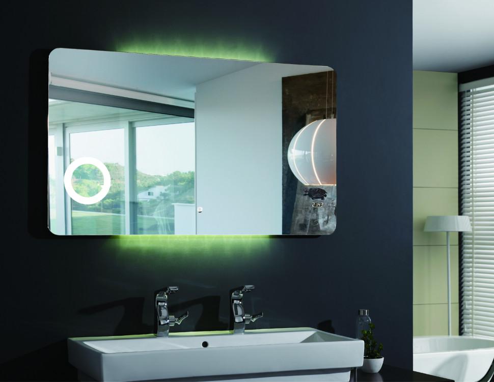 Зеркало с подсветкой 120х70 см Esbano ES-1831YD