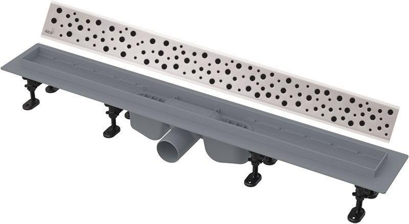 Душевой канал 944 мм нержавеющая сталь AlcaPlast APZ12 Buble APZ12-950 + BUBLE-950M фото