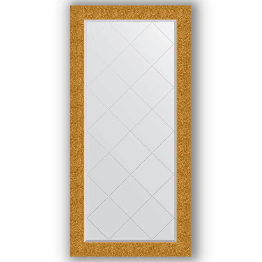 Зеркало 76х158 см чеканка золотая Evoform Exclusive-G BY 4280